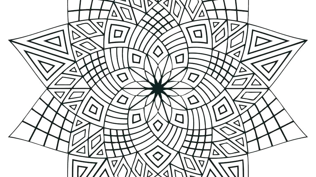 1024x576 Cool Pattern Coloring Pages Designs Coloring Pages Pattern