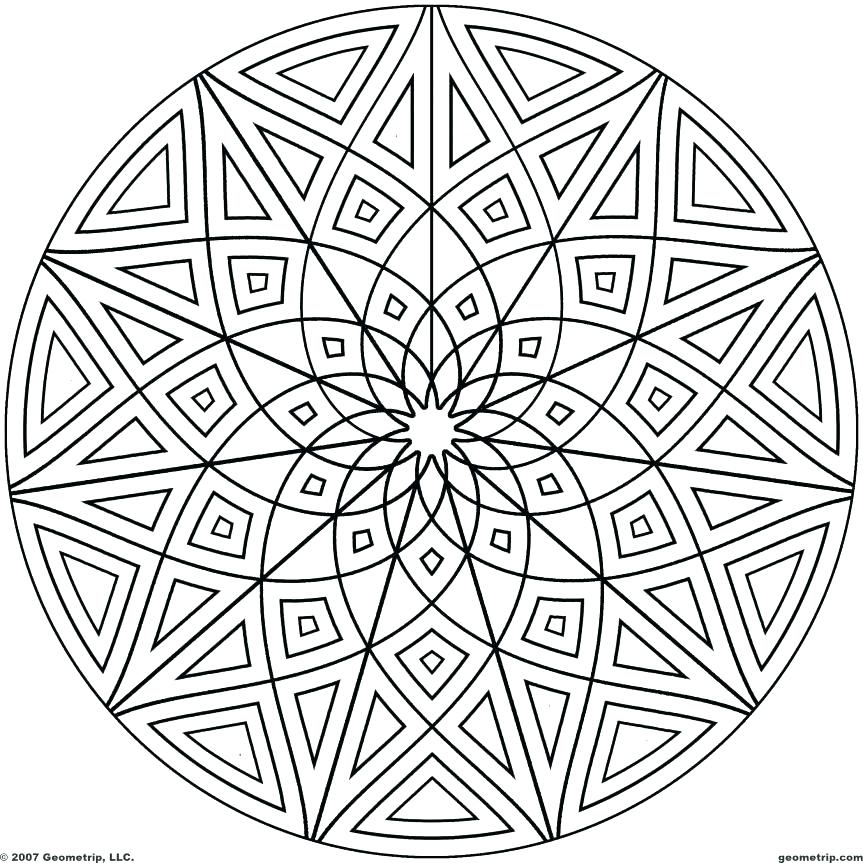 863x863 Cool Pattern Coloring Pages Cool Design Coloring Pages Coloring