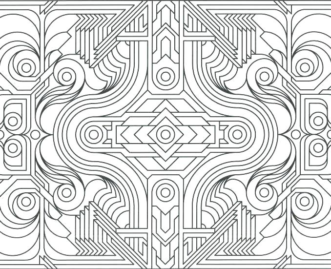678x551 Abstract Design Coloring Pages Pattern Coloring Pages Patterns