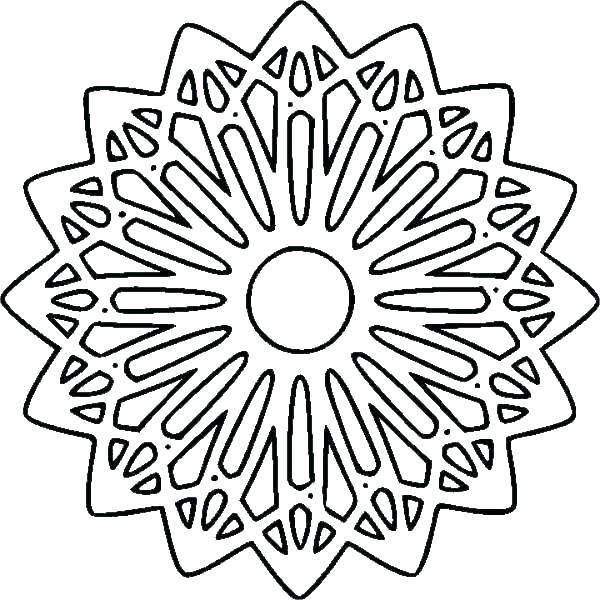 600x600 Pattern Coloring Pages Free Pattern Coloring Pages Free Mandala