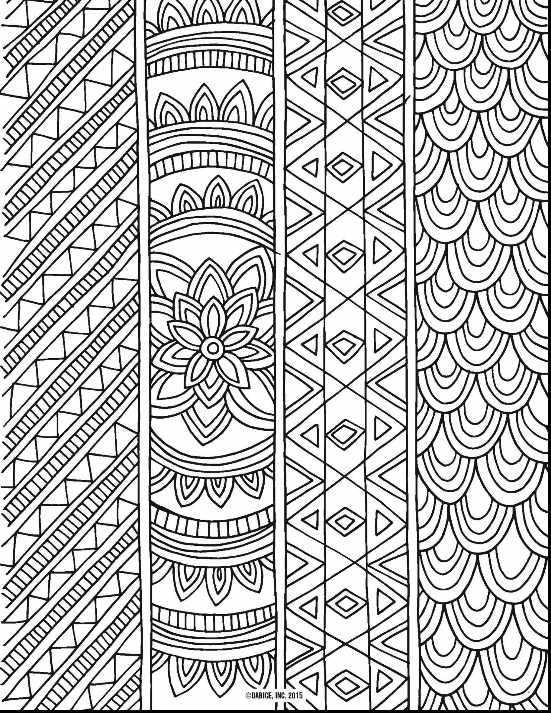 1870x2420 Printable Detailed Pattern Coloring Pages Free
