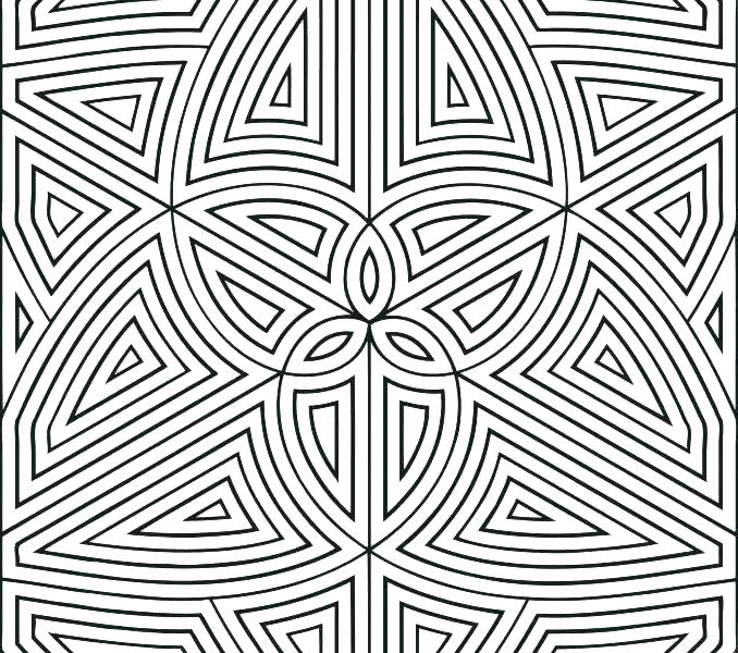 678x600 Printable Pattern Coloring Pages Coloring Pages Patterns Cool
