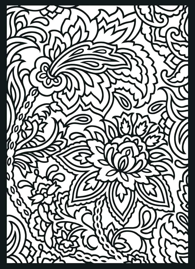 650x898 Coloring Pages Of Patterns Patterns Coloring Page Coloring Pages