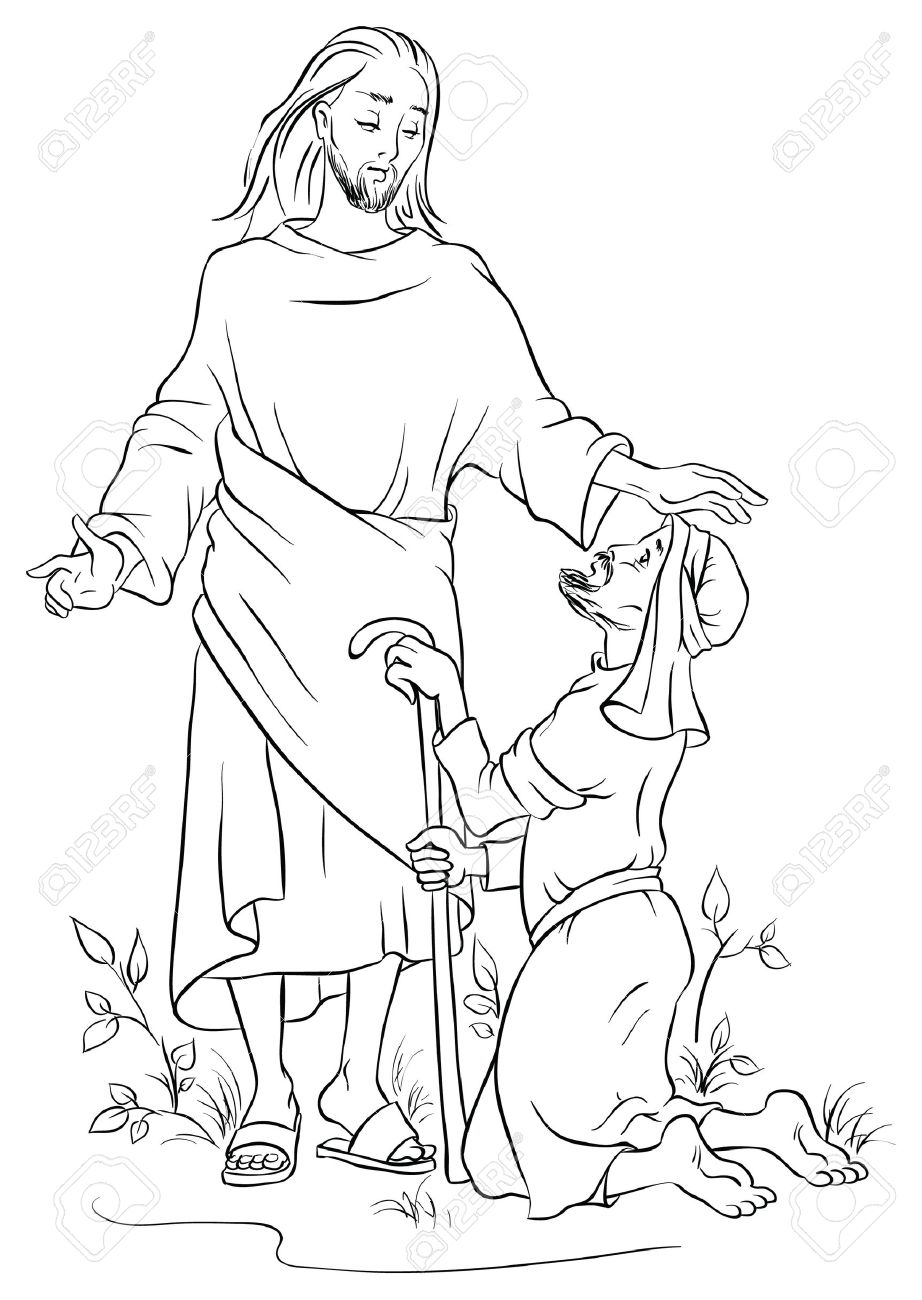 922x1300 Focus Lame Man Healed Coloring Page Paul And Barnabas In Lystra