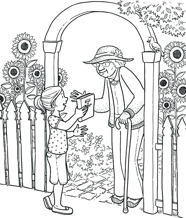 602x706 Missionary Coloring Pages Color Pages Behold Your Little Ones