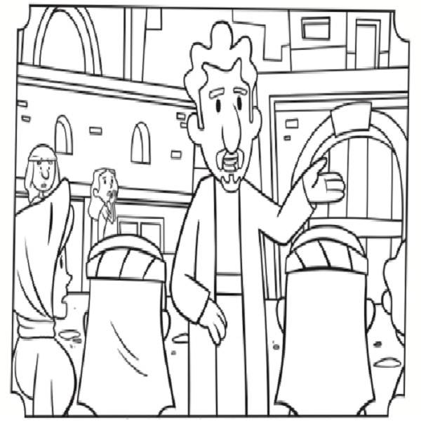 600x609 Paul And Barnabas Coloring Pages