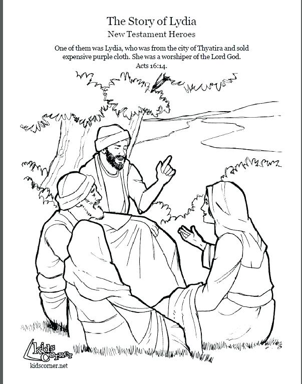 603x767 Paul And Barnabas Missionary Journey Coloring Page The Story