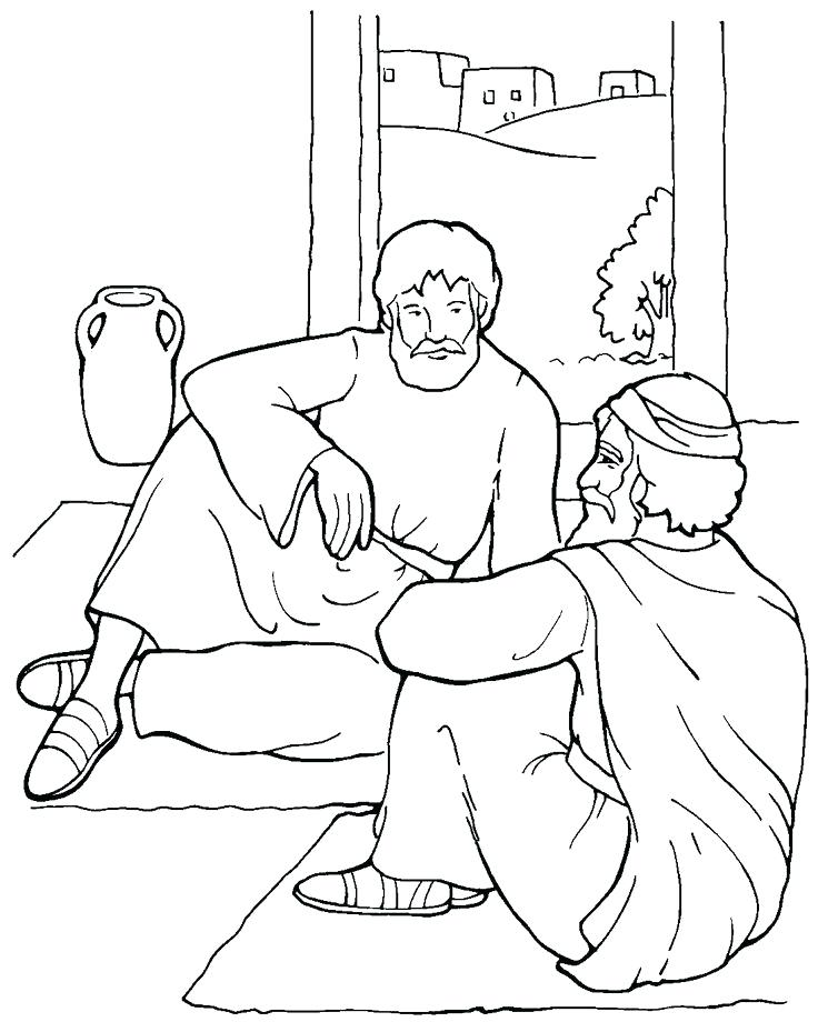 736x929 Paul And Barnabas Missionary Journey Coloring Page Timothy Pages