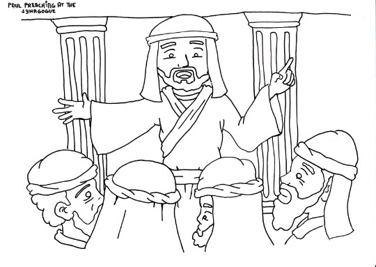 540x383 Paul Coloring Pages