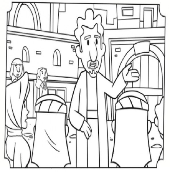 591x600 Paul And Barnabas Coloring Pages