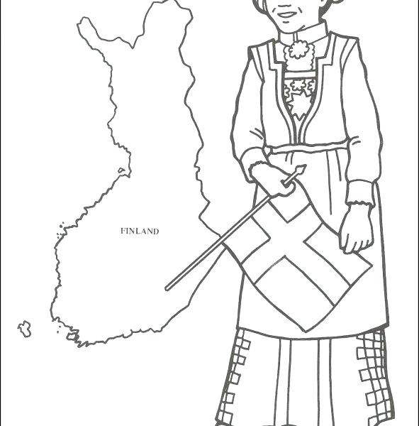 591x600 Missionary Coloring Pages