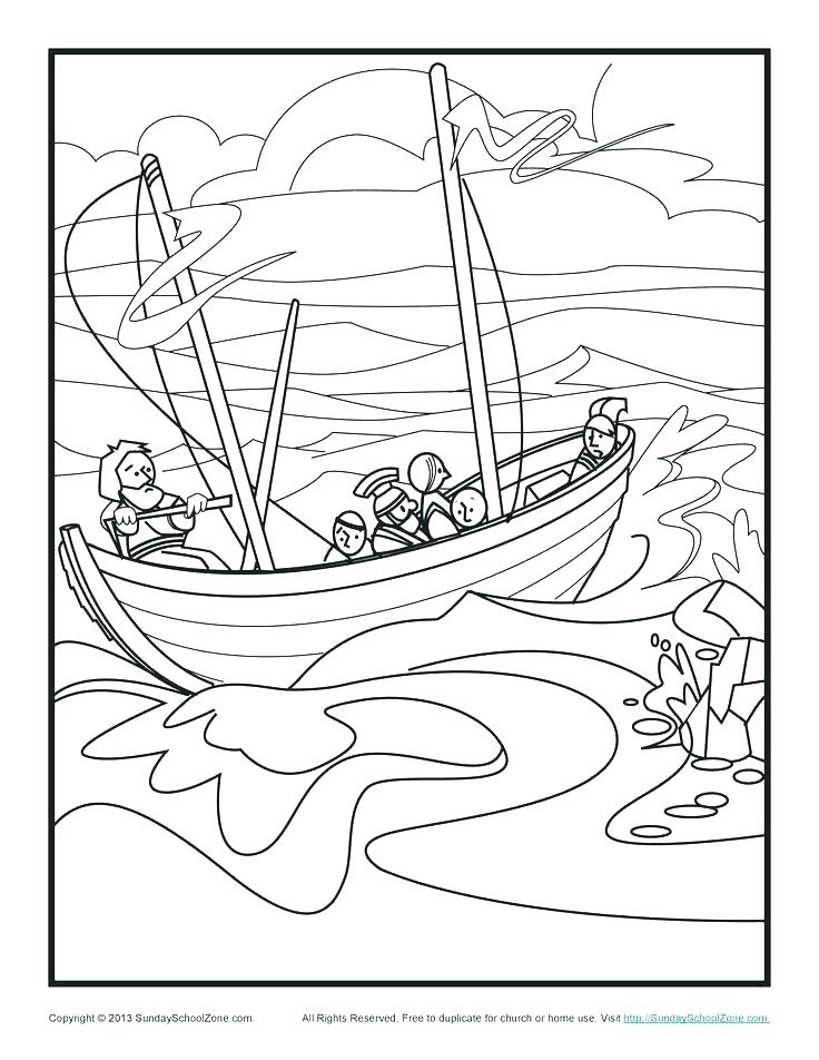 736x952 Bible Coloring Pages Paul And Barnabas On The Road To Page