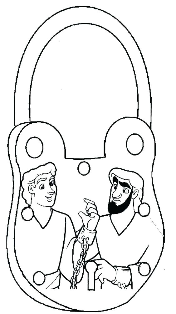 564x1003 Paul And Silas Coloring Page Earthquake Coloring Pages Paul Silas
