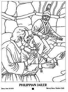 236x318 Paul And Silas In Jail Coloring Page Sunday School Coloring