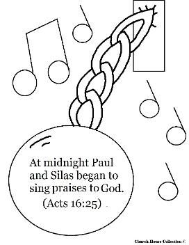272x352 Paul And Silas Coloring Pages Paul And Silas In Jail Coloring