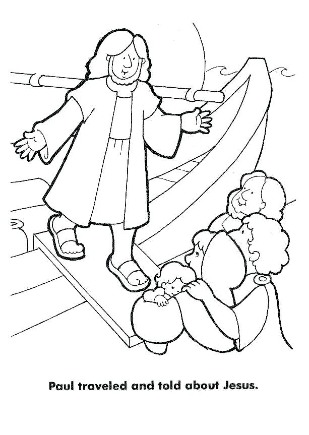613x863 Paul And Silas Coloring Page Apostle Coloring Page Apostle