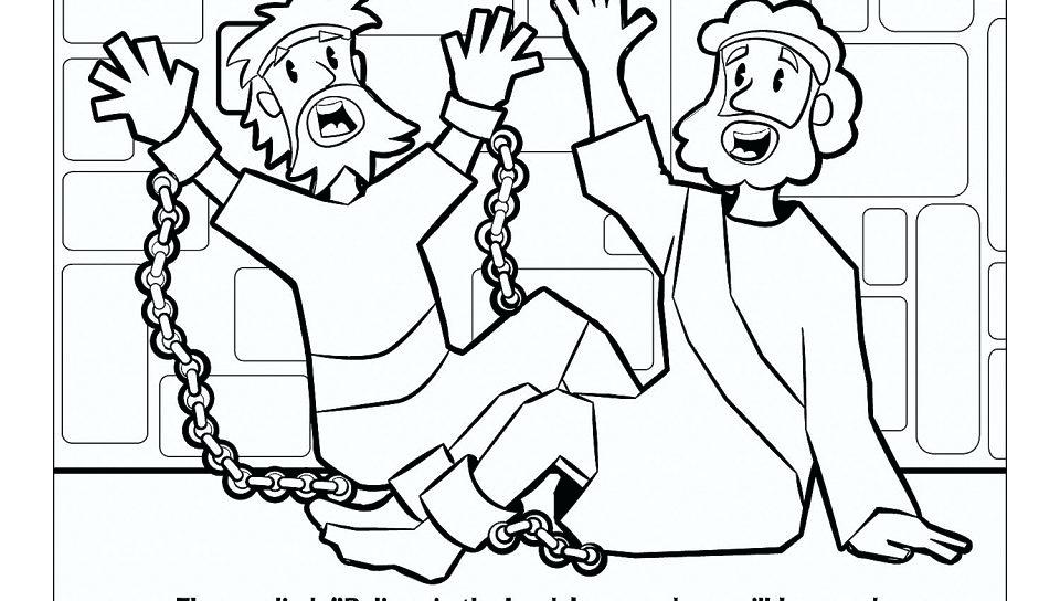 960x544 Paul And Silas Coloring Page Free Coloring Pages Of And In Prison
