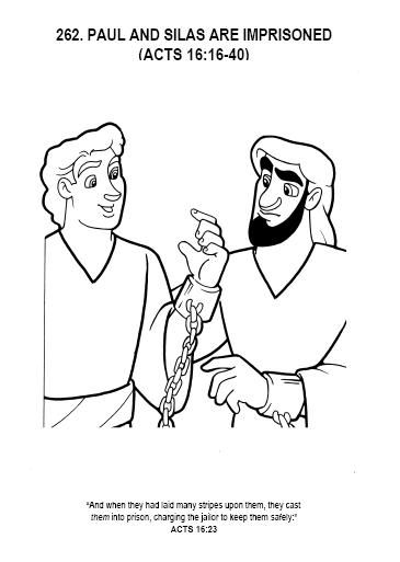 365x513 Paul And Silas Coloring Pages