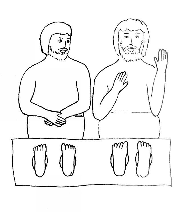 648x742 Bible Story Coloring Page For Paul And Silas In Prison Free