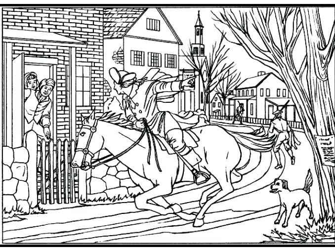 678x504 Coloring Page And Coloring Page Click The Revere Coloring Pages