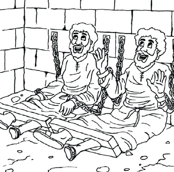 600x590 Paul Bunyan Coloring Pages And Jail Coloring Page