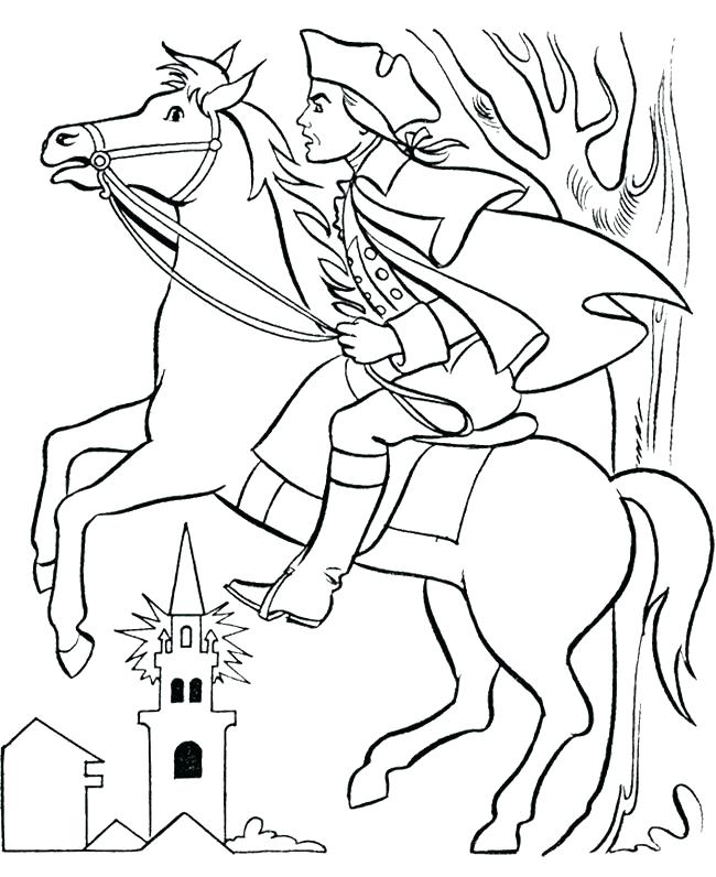 650x796 Paul Bunyan Coloring Pages Coloring Page Revere With Horse