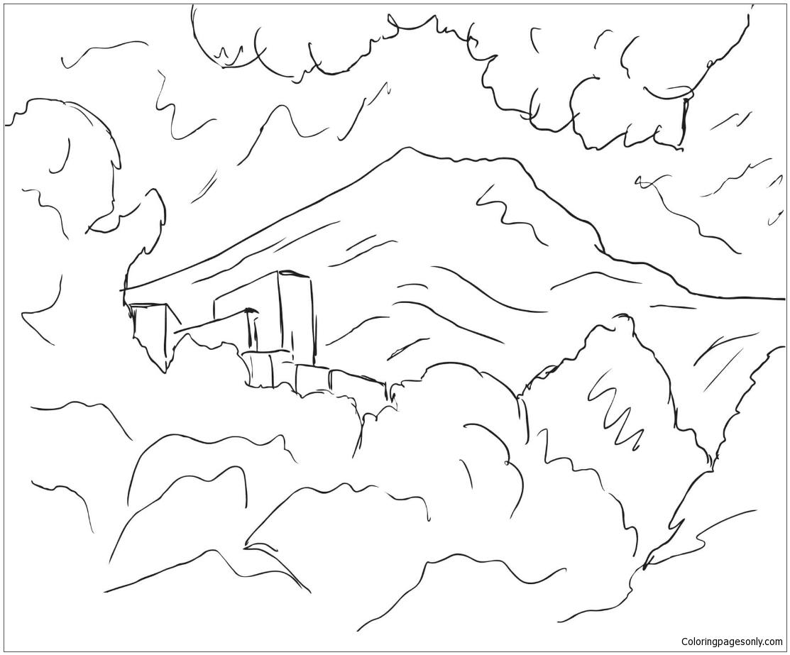1113x923 Mountain Saint Victoire