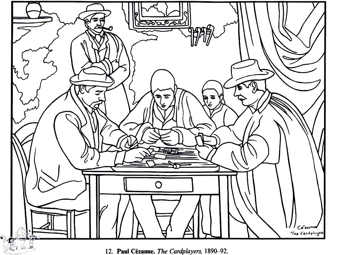 1088x816 Paul Cezanne Card Players