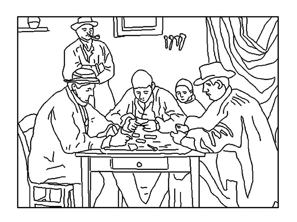 1000x749 Cezanne Card Players