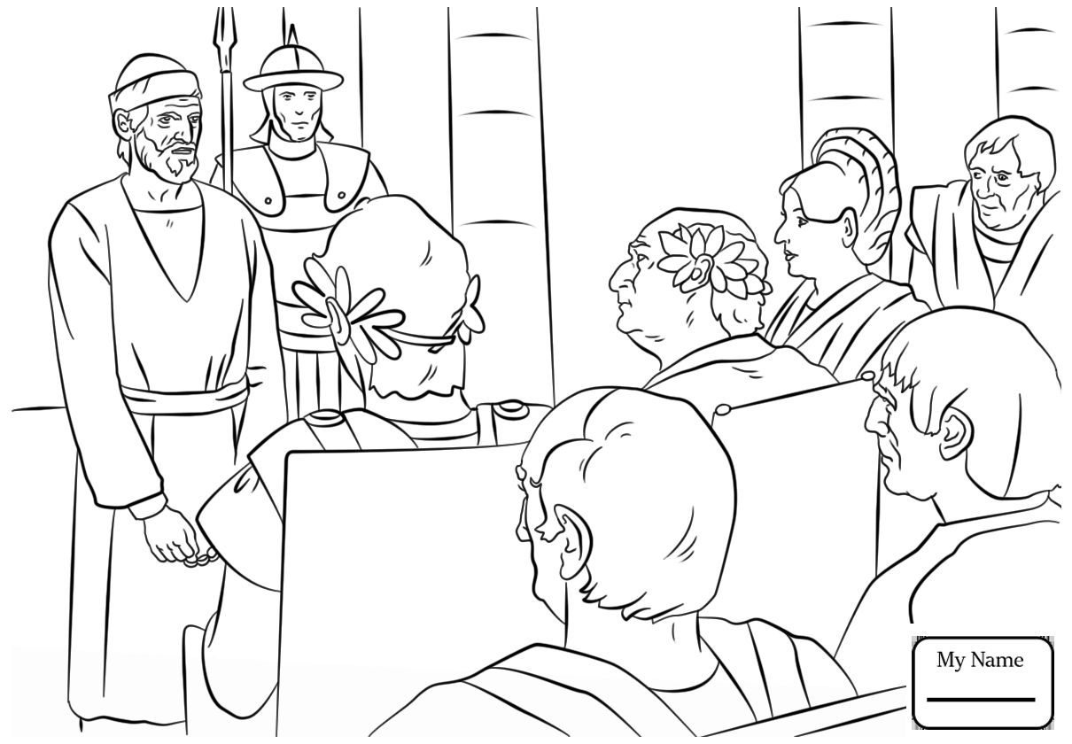 1210x840 Paul And Barnabas Coloring Pages