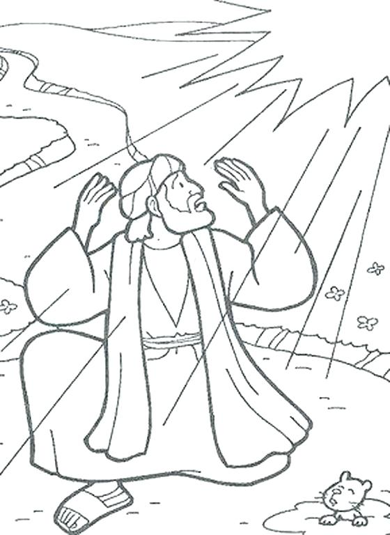 560x768 Paul On The Road To Damascus Coloring Page New With Additional