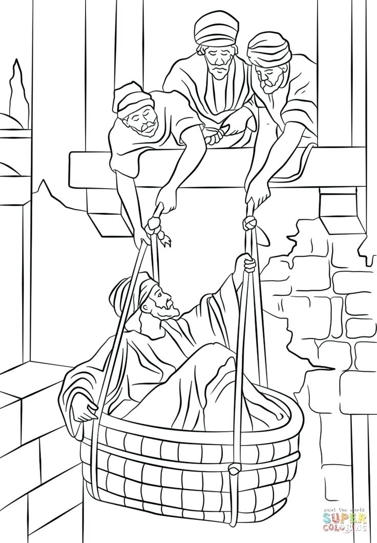 736x1059 Saul Paul Coloring Pages