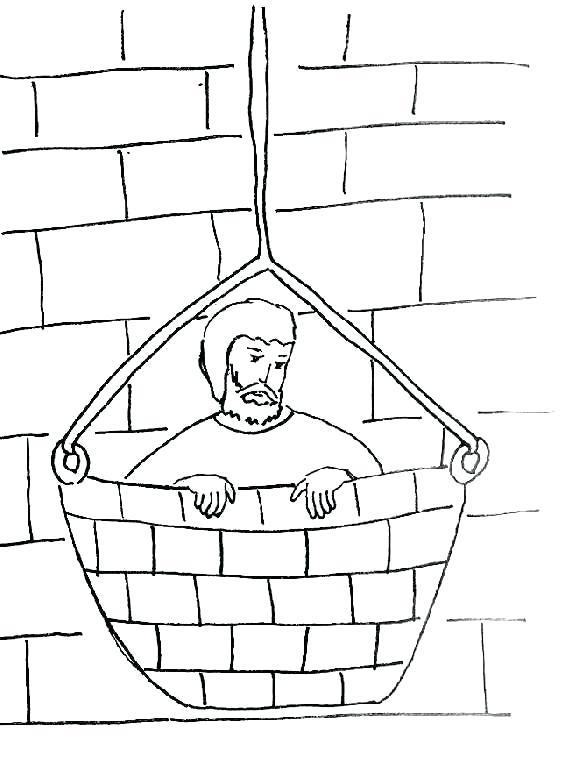 566x768 Apostle Paul Coloring Pages