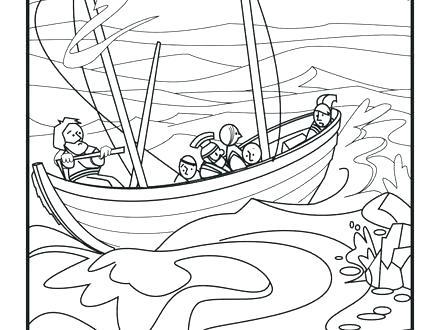 440x330 Apostle Paul Coloring Pages Apostle Coloring Pages Shipwreck