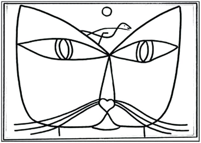 650x462 Idea Paul Klee Coloring Pages For Shapes And Potatoes
