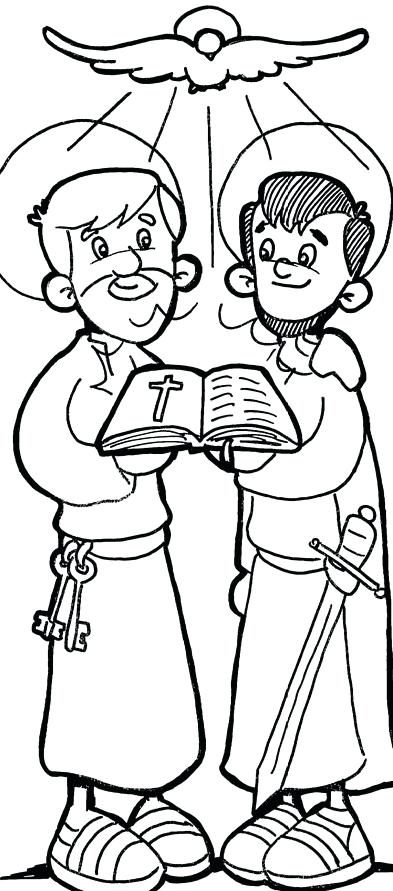393x891 Paul Coloring Pages And Coloring Page And Coloring Page
