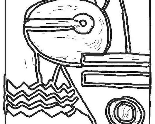530x425 Paul Klee Coloring Pages Coloring Page Paul Klee Img Free