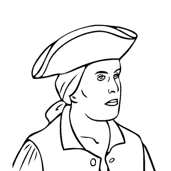 600x600 Paul Revere Coloring Page Activity Revere Coloring Pages Paul