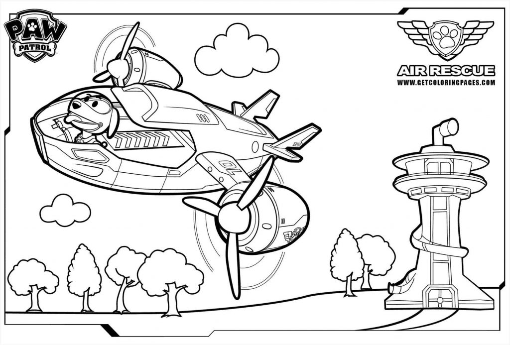 1024x693 Paw Patrol Coloring Pages Robo Dog