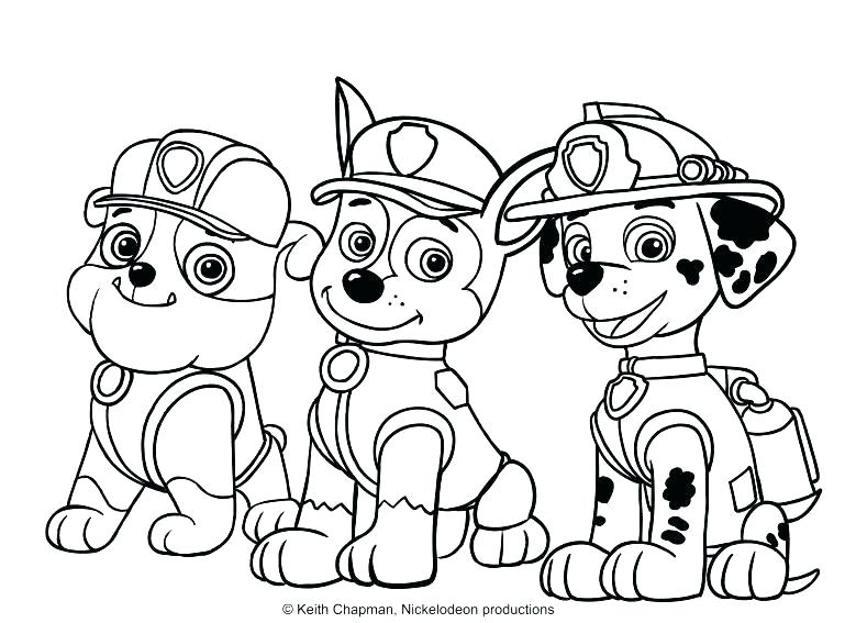 779x567 Pup Patrol Coloring Pages Coloring Pages Paw Patrol Paw Patrol