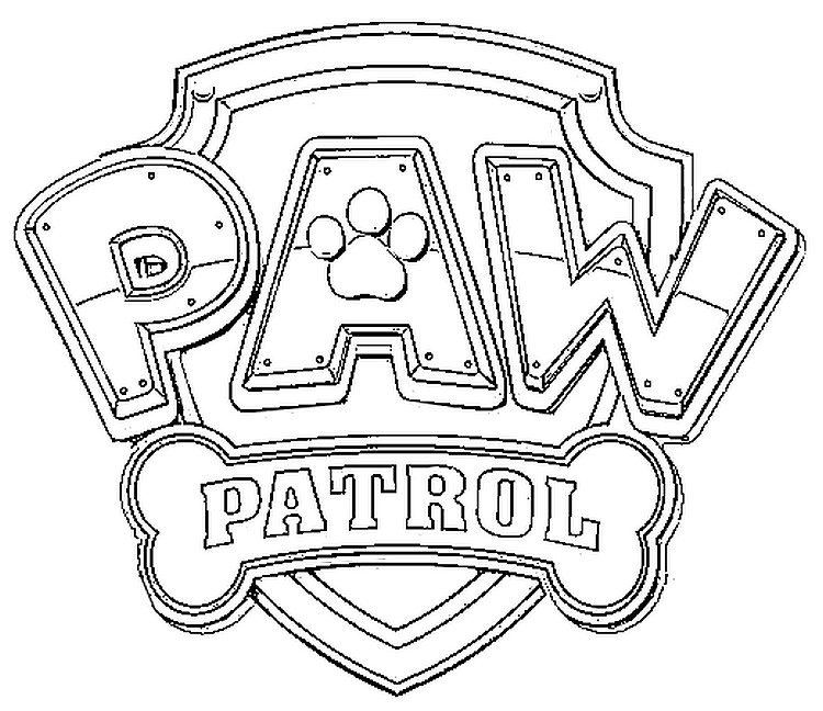 photograph about Paw Patrol Badges Printable titled Paw Patrol Badges Coloring Internet pages at  Cost-free