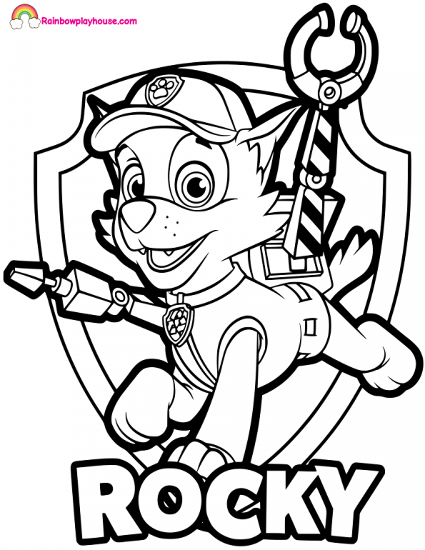 photograph about Paw Patrol Badges Printable titled Paw Patrol Badges Coloring Webpages at  Absolutely free