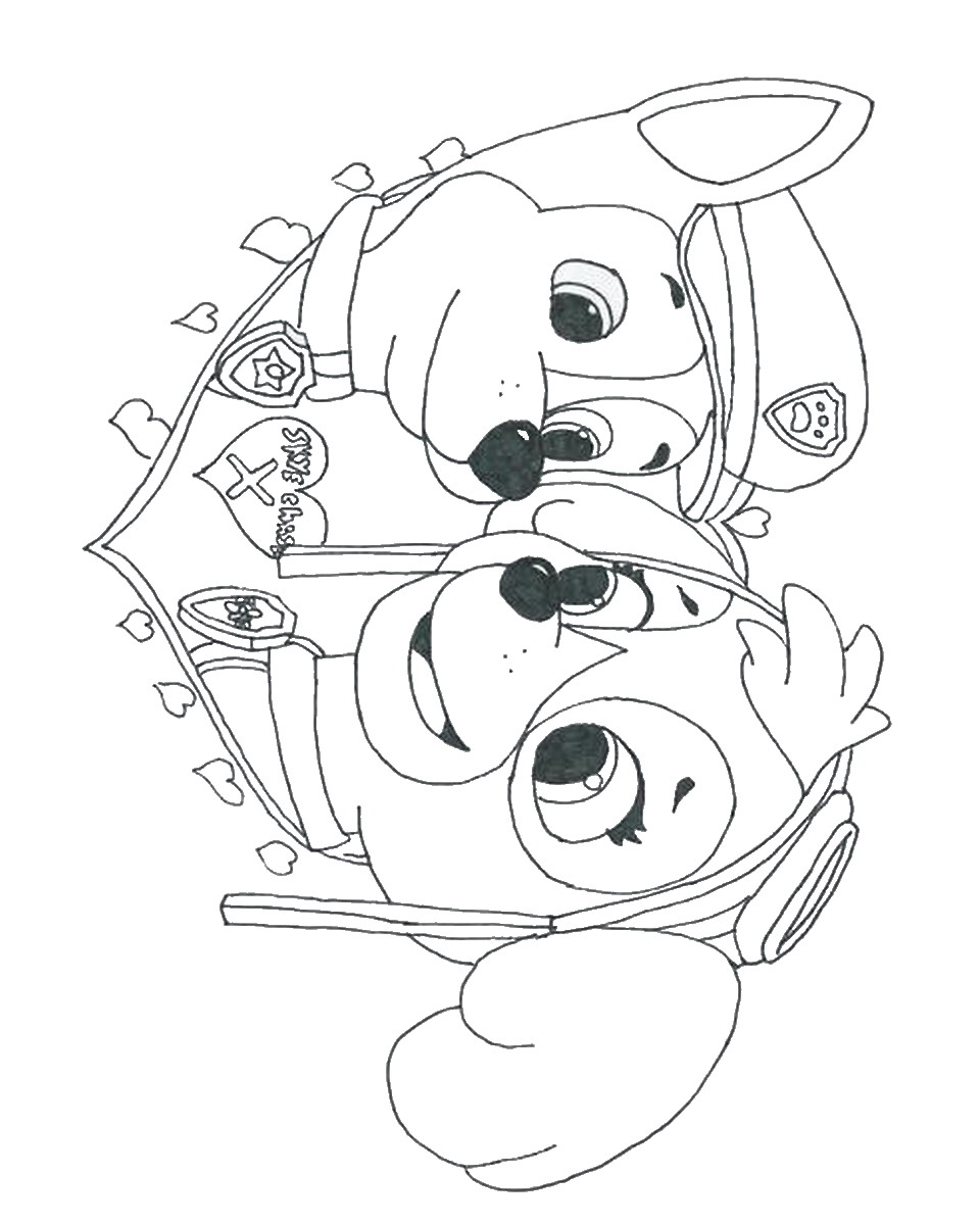 960x1200 Coloring Page Paw Patrol Badges Of Pictures To Paw Inside Pages
