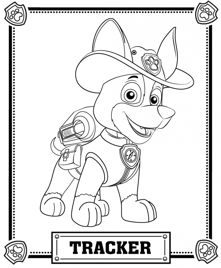 845x1024 Free Printable Paw Patrol Coloring Pages For Kids