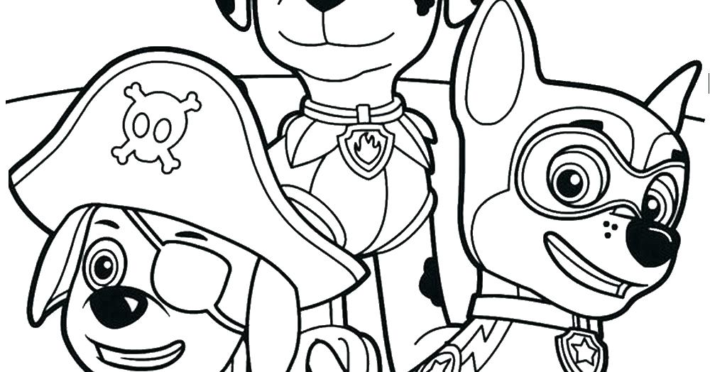 1000x524 Nick Jr Coloring Pages To Print Paw Patrol On Coloring Pages That
