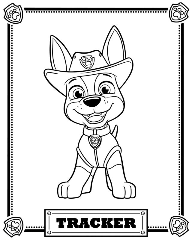 640x801 Paw Patrol Free Coloring Pages Best Paw Patrol Coloring Ideas