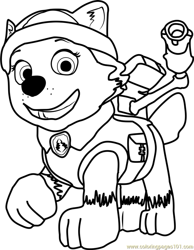 623x800 Paw Patrol Pictures To Colour And Free Coloring Pages