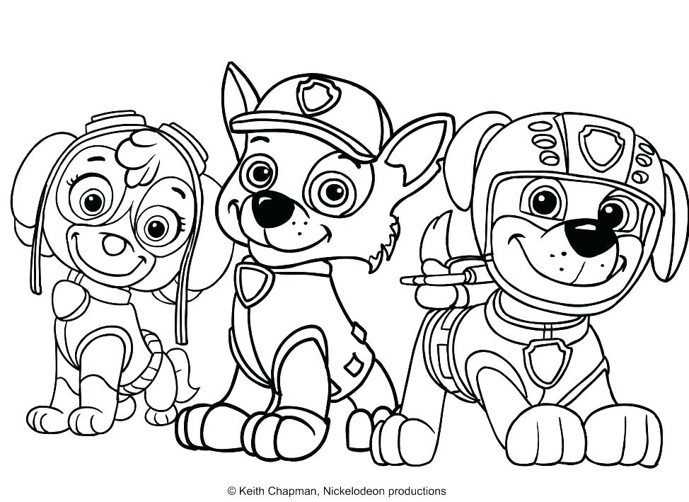 974x709 Coloring Pages Paw Patrol Also Amazing Paw Patrol Coloring Pages