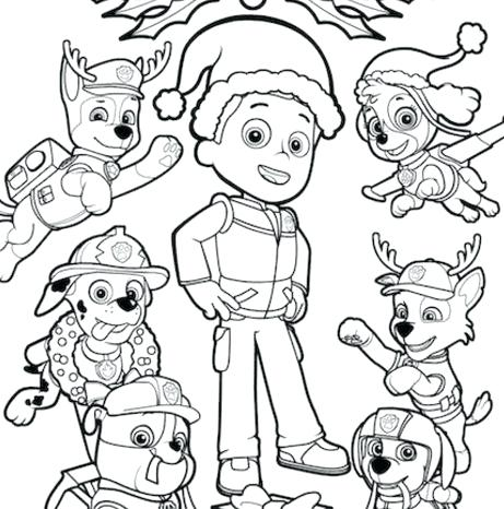 461x466 Coloring Paw Patrol Paw Patrol Coloring Pages For Coloring Paw
