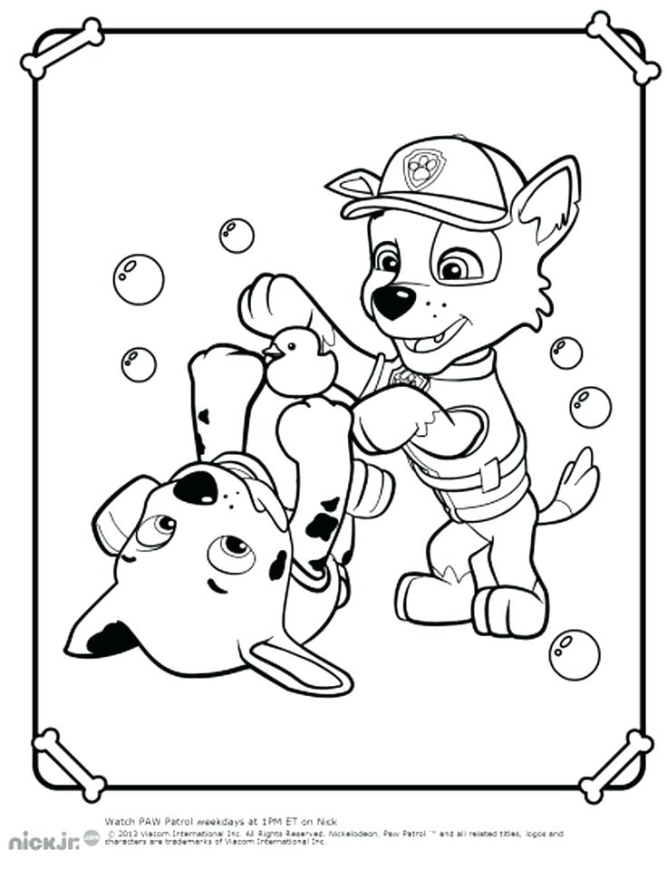 736x959 Paw Patrol Printable Coloring Pages Best Of Paw Patrol Coloring
